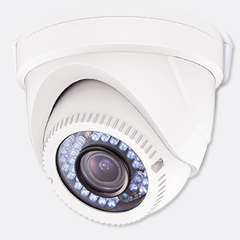 HD TVI 720P 24 IR Dome Camera