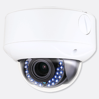 HD TVI 720P 24 IR Vandal Dome Camera