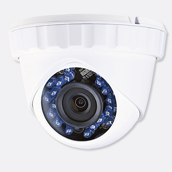 HD TVI 1080P 24 IR Dome Camera